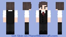Waiter Minecraft Skin