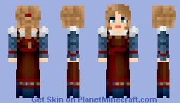 Court Gown Minecraft Skin
