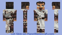 🧙 The night is long and the path is dark - Dorian Pavus 🔥 Minecraft Skin