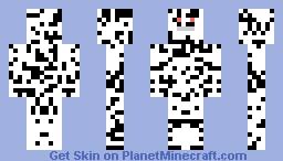 Dot Monster Minecraft Skin