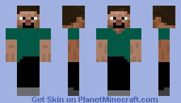 Double Face Guy! Minecraft Skin