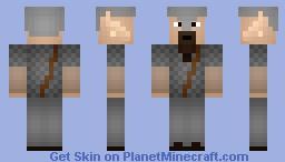 Brynhild The Hunted!(3 on 3 Skin battle) Minecraft Skin