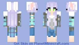 Fanskin for SpongeGar15~Fanvember Minecraft Skin