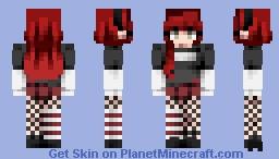 """❧ 𝙳𝚎𝚜𝚝𝚒𝚗𝚢 ❧ """"Rose"""" V2 Minecraft Skin"""