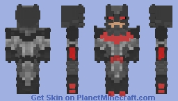 Justice League: 3000- Batman Minecraft Skin