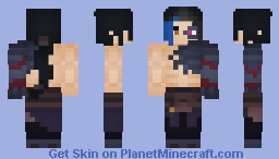 Edited Kayn Skin Minecraft Skin
