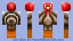 Happy Thanksgiving! Turkey Day! Minecraft Skin
