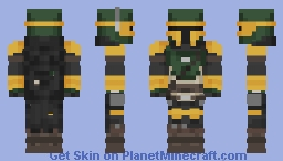Mandalorian warrior Minecraft Skin