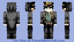 JoJo's Bizarre Adventure- Jotaro Kujo ~PLATINUM RESOLVE~ Minecraft Skin