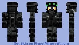 Stealth Cat Minecraft Skin