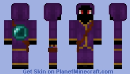 ❆𝓝𝓲𝓷𝓳𝓪𝓖𝓲𝓻𝓵2024❆ Hooded Figure (Requested LOST_IDENTITY) Minecraft Skin