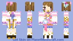 *ʟσαɔεɔαяяσш* Hanayo Koizumi - Colorful Festival Minecraft Skin