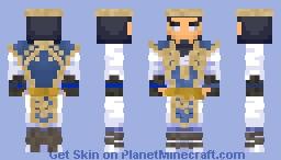 MORTAL KOMBAT X: Raiden, God of Thunder Minecraft Skin