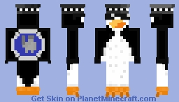 Polish Anty-anime Peunguin Minecraft Skin