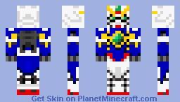 Gundam Minecraft Skin