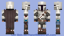 The Mandalorian (Season 2) Minecraft Skin