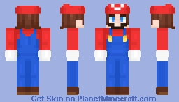 [Outdated Shading] -Mario- Minecraft Skin