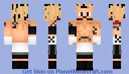 CM PUNK 2005 | ROH Minecraft Skin