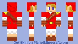 Link - Goron Tunic Minecraft Skin