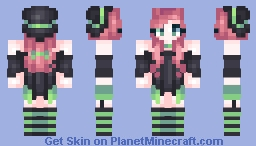 Black Cat Magic | Persona? Minecraft Skin