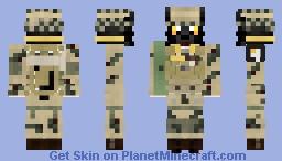 101st Airborne Division Cat Minecraft Skin