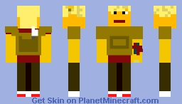 Newt TMR (The Maze Runner) Minecraft Skin