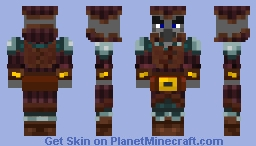 Old/Chef Pillager Minecraft Skin