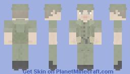 Vietnam War/Cold War ANZAC Infantryman/Soldier Minecraft Skin