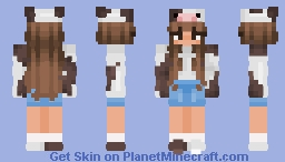 Skin for my Sister who owes me bubble tea Minecraft Skin