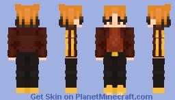 I don't wanna move Minecraft Skin