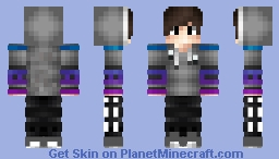 Ultimate gamer boy Minecraft Skin