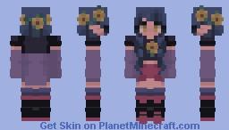Vanilla Sunflowers//rce Minecraft Skin