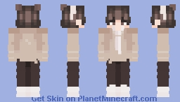 My friend said that if a zombie apocalypse just happened… Minecraft Skin