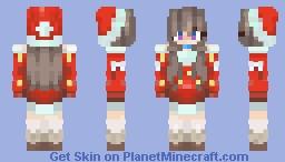 [🎄] 『𝓙𝓸𝓵𝓵𝔂 𝓪𝓵𝓵 𝓽𝓱𝓮 𝔀𝓪𝔂』 [🎁] Minecraft Skin