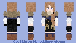 Mercedes (Student) | Fire Emblem: Three Houses Minecraft Skin