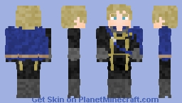 Dmitri (Student) | Fire Emblem: Three Houses Minecraft Skin