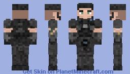 Dominic Santiago (Gears 1 & 2 Attire) Minecraft Skin