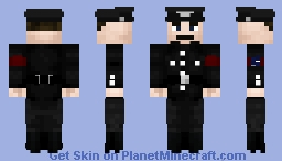 Oswald Mosley {Hopefully the last attempt of this man's skin} Minecraft Skin