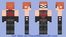 Red Arrow/Roy Harper | Young Justice Minecraft Skin