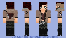 V (Female) | Cyberpunk 2077 Minecraft Skin