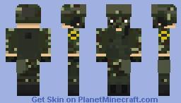 Brazilian Armed Forces | Brazil | Forças Armadas Brasileiras | Jungle Regiment Minecraft Skin