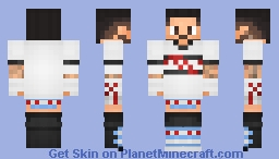 CM PUNK | WWE [2011] [NEW] Minecraft Skin