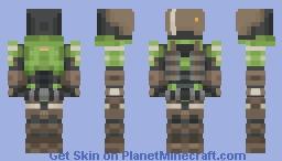 Spartan GUNGNIR (Halo) Minecraft Skin
