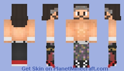TIGHTZ   Matt Jackson   AEW Minecraft Skin