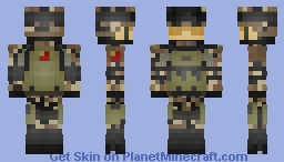 People's Liberation Army Desert | *people of republic china Federal Soldier* (REMAKE) Minecraft Skin