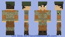 Brazilian Armed Forces | Brazil | Forças Armadas Brasileiras | Guerreiros da Caatinga/Caatinga Warriors | Off-Duty | Soldier Minecraft Skin