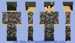People's Liberation Army | Type-07 Urban | Ground Forces/Army | China | Soldier Minecraft Skin
