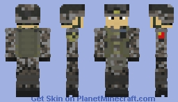 People's Liberation Army | Type-07 Urban | Ground Forces/Army | China | Rfileman | Armored Minecraft Skin