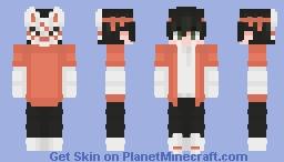 kitsune mask male Minecraft Skin