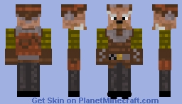 Kuill. (new and improved. mandalorian S. 1) Minecraft Skin